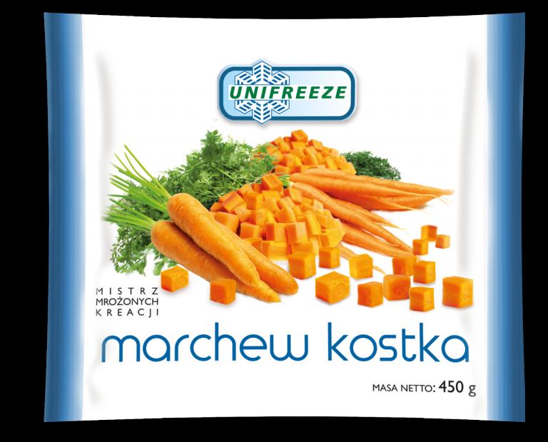 Marchew mrożona kostka - Unifreeze